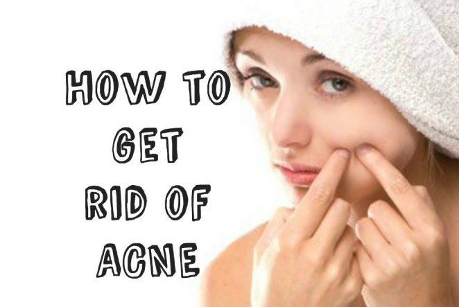 How to get rid of pimples at home fast